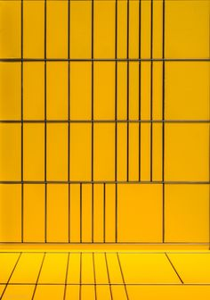 Yellow and some Grid Lines by Stefan Krebs