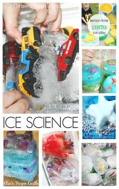 20 Melting Ice Science Sensory Play Activities