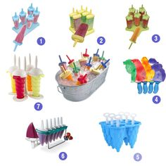 The Coolest Popsicle Molds! : Growing Your Baby