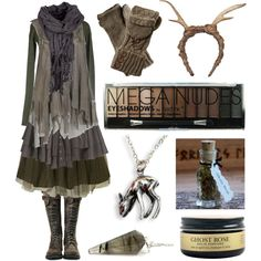 Yearling by maggiehemlock on Polyvore featuring Manostorti, AllSaints, Jolie Moi, FAUXTALE and Boohoo