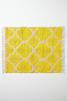 Best way to brighten up a kitchen table: Cheerful placemats from Anthropologie for $7 http://rstyle.me/n/bszm6x9ie