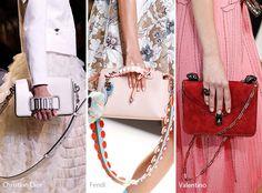 Runway Spring/ Summer 2017 Handbag Trends: Hand-Held Long-Strap Bags