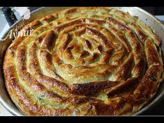 Baklavalık Yufkadan Ispanaklı Börek | Hamur İşleri - YouTube