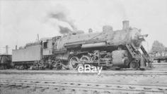 Photo-Negative-C-EI-1900-Steam-Locomotive