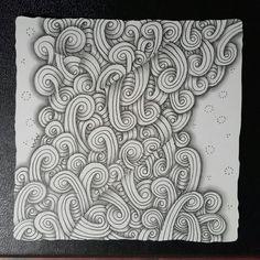 #zentangle #sandswirl #blackandwhite #doodle #pencil #doodleart #inkart