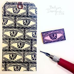1-eye-wm Balzer Designs Stamp Carving