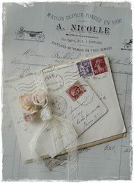 Hello my dear friends, we had the most wonderful time in Paris but it is also nice to be back again. I did find some old letters a. Letters From Home, Old Letters, Vintage Love, Vintage Paper, Design Vintage, Handwritten Letters, Old Love, Vintage Lettering, Lost Art