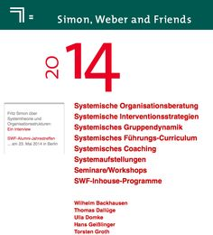 OE_fortbildungsanbieter: Fritz Simon; www.simon-weber.de Systemisches Coaching, Workshop, Group Dynamics, Theory, Learning, Atelier