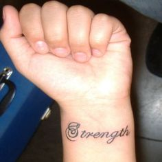 Strength-wrist-tattoo