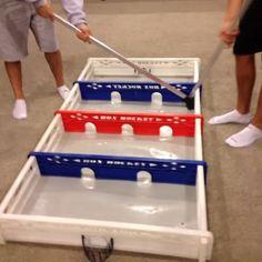 """…this game is soooo much fun!!!...""  #BOXHOCKEY _ BOX HOCKEY _ ""BOX HOCKEY"" From Box Hockey International, Inc. www.BOXHOCKEY.co"