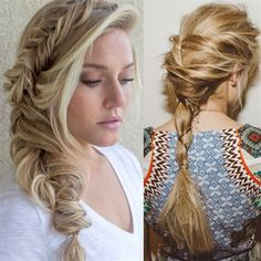 It's all about them braids! Whether you're heading to your favorite music festival, attending a black tie event, or simply lounging in your most comfortable pajamas, rocking a braid is always on-trend. Here are 6 chic plaits to keep handy, from fishtails to mohawks, zipper braids and more, to help you braid like a boss.   Nick … Continued