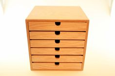 Chest Of Drawers Handmade 6 Drawer Wood Chest Knitting Storage Craft Storage…