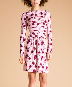 Whimsy Rose Ruched Boatneck Dress