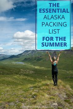 The perfect Alaska packing list for the summer, with a complete checklist, camera gear, camping gear, and so much more that will help you plan and prepare for your trip in Alaska. Packing For Alaska, Alaska Camping, Camping Bedarf, Alaska Fishing, Alaska Travel, Alaska Trip, Camping Signs, Camping Coffee, Camping Theme