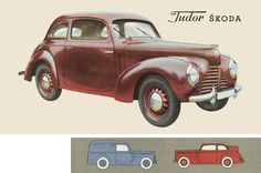 Škoda Tudor - Prospekt Product Development Manager, Advertising Sales, Mini Trucks, Car Posters, Garages, Old Cars, Motor Car, Tractor, Vw