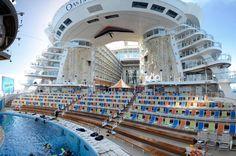 Get Scuba-certified at sea in Oasis of the Seas' AquaTheater.