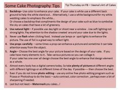 Food Photography Tips, by Veena's Art of Cakes