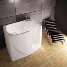 baignoire asymétrique pour petite salle de bain