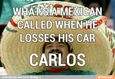 Mexican joke haha #Spanish