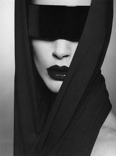 Strangely compelling, Model- Iselin Steiro Makeup- Tyen and Kim Stylist-...