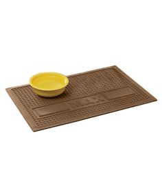 Personalized Water Trapper Pet Place Mat