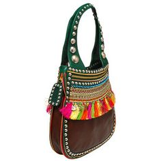 Etro , Bag Small Beaded And Fringed