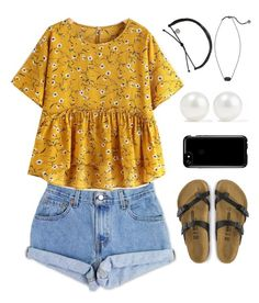 """I really like this shirt"" by allyson04 on Polyvore featuring Levi's, Kendra Scott, Kenneth Jay Lane and Speck"