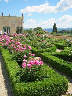 The Ceramic house, Boboli Gardens, Florence.