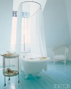 "haven home & style: ""Blue Monday: 7 Nearly Blue Rooms"""