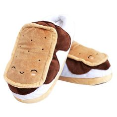 Snuggly USB S'mores Footwarmers.