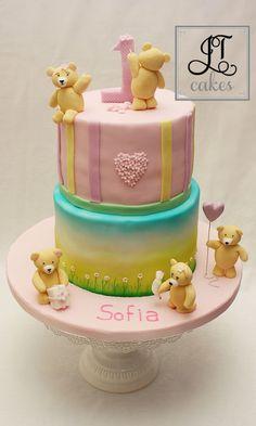 Teddies Cake
