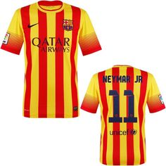 - Free Fedex shipping - Usually ships same day - Official Nike Neymar JR Barcelona jersey youth, kids and boys sizes - Nike Dri Fit, Polyetser, Imported - Returns and exchanges accepted SIZE