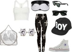 """Cross"" by adraboo ❤ liked on Polyvore"