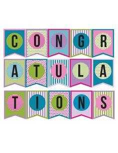 congratulation banners