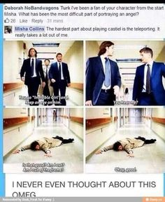 Misha 'teleporting'