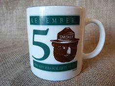 Smokey the Bear 50th Anniversary 8 Ounce Coffee Mug