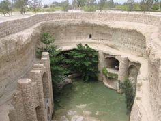 Hydraulic systems in an ancient underground Iranian city, Kish island, Iran