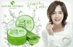 Aloe Vera gel 92% Nature Republic, Aloe Vera Gel, Cotton Candy, Korea, Korean, Floss Sugar