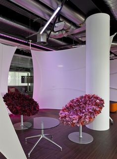 Moveable Office Screens | Cussons, Manchester Office Screens, Fabric Structure, Creative Inspiration, Manchester, Centerpieces, Reception, Wall, Projects, Design