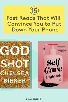 15 Fast Reads That Will Convince You to Put Down Your Phone | These are our book editor's favorite 15 books and novels that have helped her slowly but surely get back into reading, and she hopes that they help you too. Books with varied genres from charming love stories, laugh-out-loud fiction novels, beautiful cookbooks with delicious recipes, and more must-read books. #realsimple #bookrecomendations #thingstodo #bookstoread