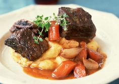 Beef Short Ribs with Carrots - James Baigrie/Photolibrary/Getty Images