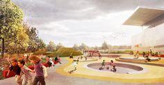openfabric | Ballyfermot Playground Dublin | Ireland