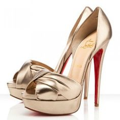 Christian Louboutin Volpi 150mm Sandals Alba Red Bottom Shoes $155.00