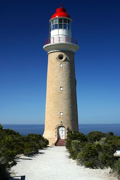 Lighthouse - Kangaroo Island lighthouse, in South Australia.