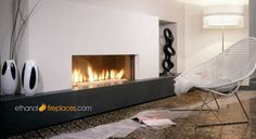 Ethanol Burner Insert Projects - contemporary - fireplaces - other metro - Ethanol Fireplaces