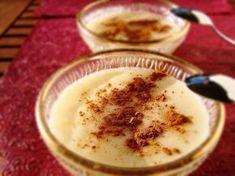 Rizogalo De Gustibus 041 Greek Sweets, Greek Desserts, Cold Desserts, Summer Desserts, Greek Recipes, Desert Recipes, Spanish Recipes, Sweets Recipes, Appetizer Recipes