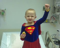 She has been fighting cancer since she's 14 months old. Rosemarie will turn five this summer, and has not seen remission yet. She is an incredible child! This little warrior is indeed a Supergirl! I Hate Cancer, Oncology Nursing, Surgical Nursing, 14 Month Old, Childhood Cancer Awareness, Boys Life, Cancer Facts, Keep Fighting, Midwifery