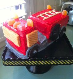 Feuerwehr-Torte