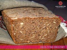 Chleb żytnio-orkiszowy na zakwasiwe