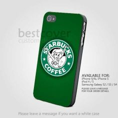 Little Mermaid Starbuck Logo for IPhone 4/4s/5 iPod 4/5 Samsung Galaxy S2/S3/S4 Case by BestCover on ArtFire on Wanelo